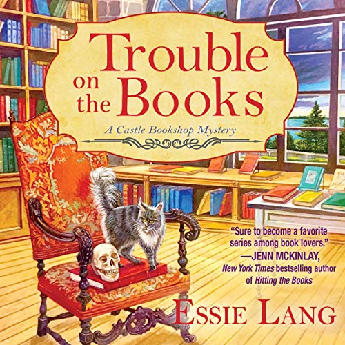 Trouble on the Books audiobook cover art