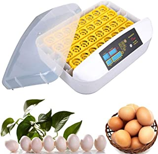 Incubator, 56 Egg Incubator LCD Auto-Turning Hatcher Hollow Style Poultry Hatcher with Alarm Function for Chick, Duck, Goose Egg Hatching