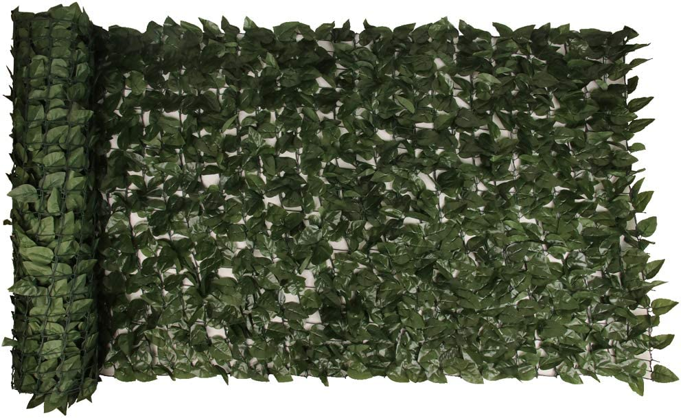 XDRCTEY Artificial shipfree Special price Faux Ivy Hedge 157.5x39.4 Screen Leaf Fence