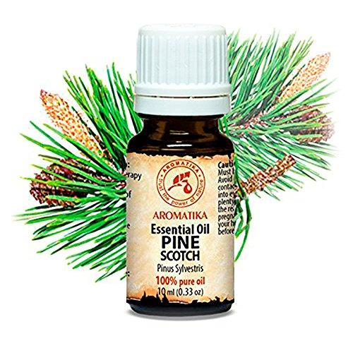 Kiefernadel Öl (Pine Scotch) 100{5a5f85eff640db840496f287ad22ec236892cfa491551f3b9a292eebb0578311} Naturreines Ätherisches Kieferöl 10ml - Kiefernnadeln - Pinus Sylvestris - Austria - Frischer Nadelduft - Kiefernnadelöl Gut Für Sauna - Beauty - Wellness - Aromatherapie - Aroma Diffuser – Kiefernöl - Reines & Natürliches Kiefernadelöl