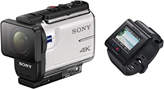 SonyFDR-X3000 Action Camera With  Live-View Remote Kit, White