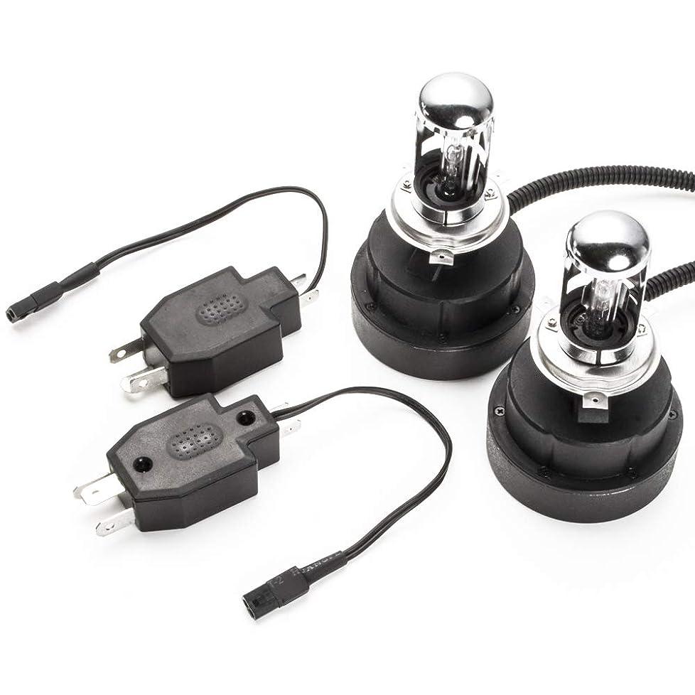 俳句増幅器デモンストレーションGX/LX/MX/SX/JZX80系 マーク2 S63.8~H4.9 極 ワンタッチHIDキット H4(Hi/Lo) ヘッドライト用 55W 10000K