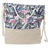 Trendy-Wood-Light Tasche Daniela Strandtasche Handtasche Taschen handgefertigt Shopping Beach Bag...