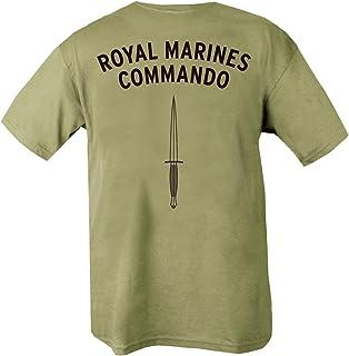 Kombat UK Men's Royal Marines Commando T-Shirt