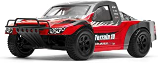Exceed Racing Terrain 1/10 Scale Short Course Truck Ready to Run 2.4ghz (AA Red)