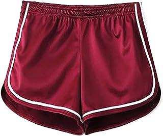 Amazon Es Rosa Pantalones Cortos Deportivos Ropa Deportiva Ropa