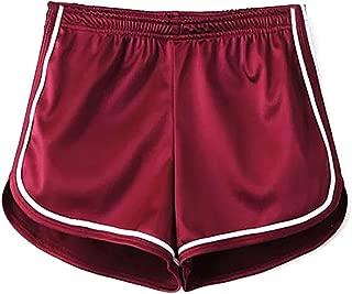 silk booty shorts