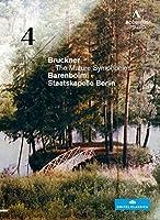 ブルックナー : 交響曲 第4番 変ホ長調 「ロマンティック」 (1878/1880年版) (Bruckner : The Mature Symphonies / Barenboim , Staatskapelle Berlin) [DVD] [輸入盤]