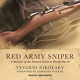 Red Army Sniper audiobook cover art
