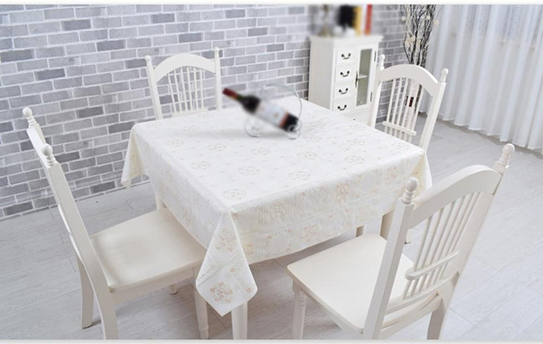 hermoso ZHUOBU Mantel de de de PVC Impermeable Anti-Aceite, Mantel de plástico Anti-Caliente Mesa Cuadrada Larga  entrega de rayos