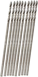uxcell a11030700ux0287 30mm Long 0.8mm Dia Micro HSS Twist Drill Bit Pack of 20