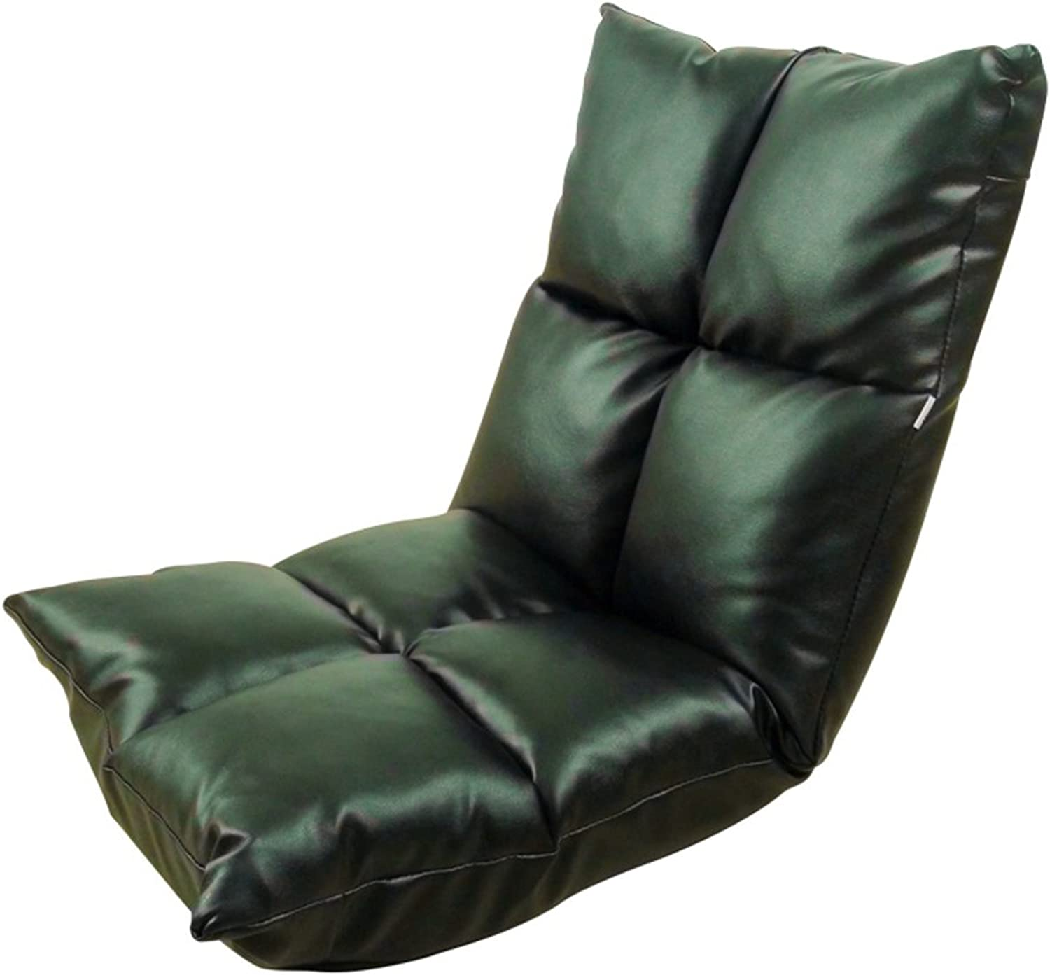 MAHZONG Recliners Home Bedroom Nap Lazy Sofa Foldable (color   Black)