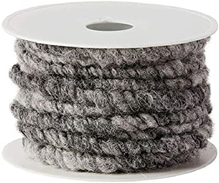 braun 65 Dekoband Kordel Wollkordel Schleifenband Geschenkband 10 mm 10 m