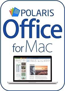 Polaris Office for Mac |Mac対応|ダウンロード版