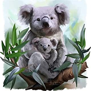 Paint-by-Number Kits for Adults - Koala - Includes Brushes, Paints and Numbered Canvas - 16x20 Inch - Great for Kids and Adults,Without Frame
