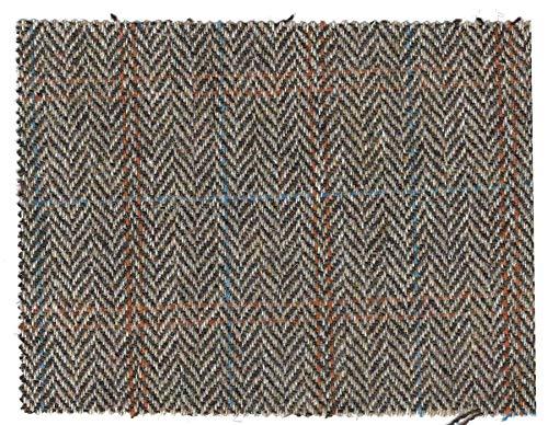 Walker and Hawkes - Harris-Tweed-Stoff - 100% echte Schurwolle - Sandwei� - 50 x 150cm