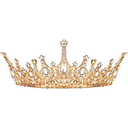 Bright Gold Crown Applique  Royal Prince Gold Crown Applique  Royal Princess Gold Crown Applique  Pre-Made Gold Crown Applique