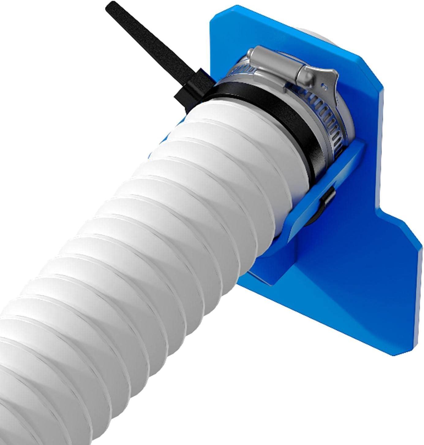 KUNMEI Soporte para Manguera de Agua, Soporte para Tubo De Piscina para 30-37 mm / 12-14,8 Pulgadas, Accesorios para Piscina Antipinchazos, Antidesgarro Y Antiestiramiento