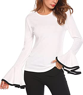 0ca756ed419a Amazon.com  Whites - Blouses   Button-Down Shirts   Tops   Tees ...