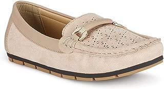 Ceriz Women's Adaline Beige Loafers