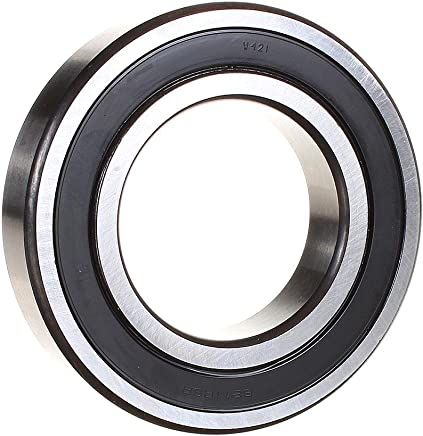 Contact 18mm Width Standard Cage Double Sealed Deep Groove Design C3 Clearance 80mm OD Single Row 40mm Bore ABEC 1 Precision SKF 6208-2RS1//C3 Radial Bearing
