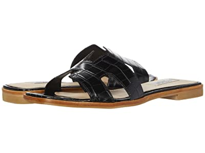 STEVEN NEW YORK Hadyn (Black Croco) Women