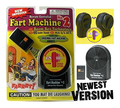 Fart Machine No. 2 - Wireless Remote Controlled - Newest Improved Model Top Notch