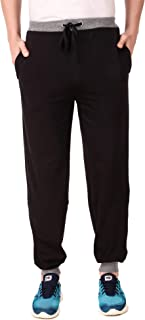 Cynak Men's Cotton Trackpants | Lowers with Both Side Zipper Pockets (Multicolor)