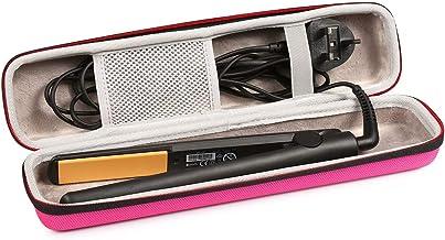 Heat Resistant  Flat or Curling Iron Case Fancy Buttons Flat Iron or Curling Iron Case