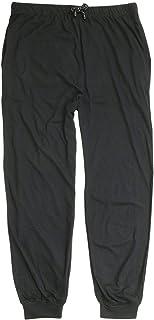 ADAMO Black, long pyjama bottoms plus sizes up to 10XL