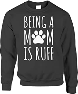Tim And Ted Being A Mum is Ruff Dog Jumper Sweatshirt Sweater