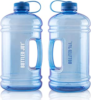 Large Water Bottle Big Jug 105OZ BPA-Free 0.8 Gallon Container Sport Outdoor