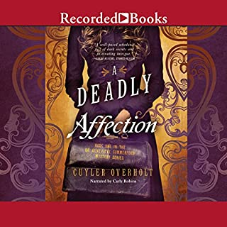 A Deadly Affection audiobook cover art