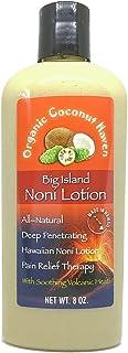 Healthy Trends Hawaii Organic Big Island Noni Lotion All Natural 8 oz