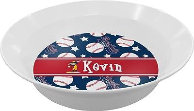 Baseball Dinner Set - 4 Pc (Personalized)
