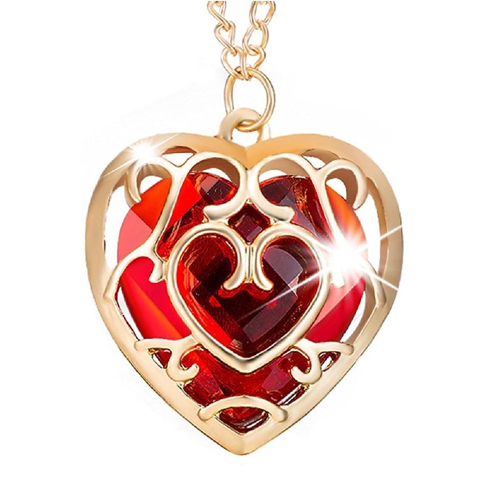 Power Wing Heart Pendant Necklace Syhthetic Cubic Zirconia Women Men Best Jewelry rsqpbvsq4378