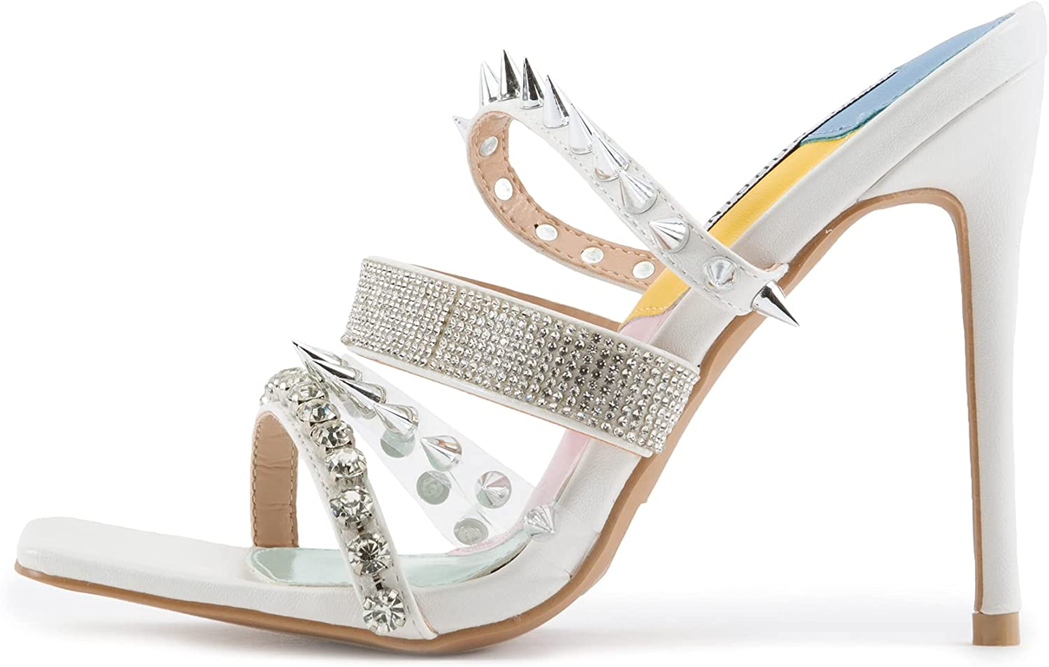 Cape Robbin Quatro Sexy Stiletto High for Square Heels Women In a popularity New Shipping Free Op