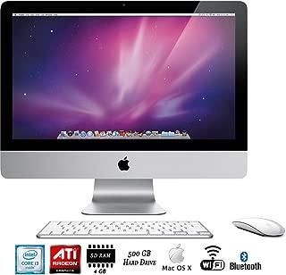Apple iMac MC508LL/A 21.5-Inch Desktop - (Renewed)