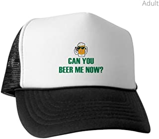 Trucker Hat (Baseball Cap) Can You Beer Me Now Beer Mug