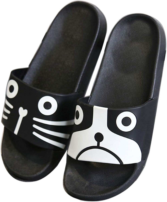 DKKK Women's Cute Animal Non-Slip Shower Sandals House Mule Soft Foams Sole Pool Slippers Bathroom Slide Water Shoes