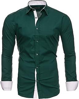 online retailer 2d58b 4ca5b Amazon.it: Verde - Camicie / T-shirt, polo e camicie ...