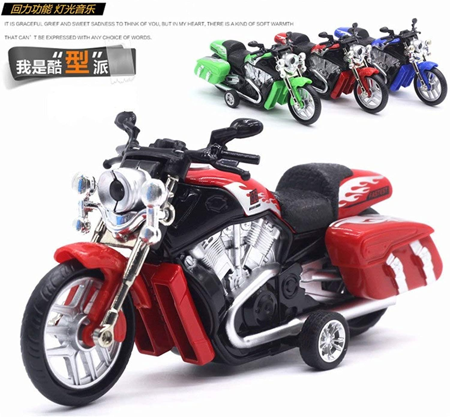 High Simulation Alloy Diecast 1 18 18 18 Harley Road King