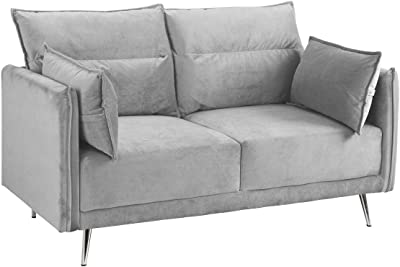 Amazon.com: Porter Designs U1062 Serena Sleeper Sofa, Khaki ...