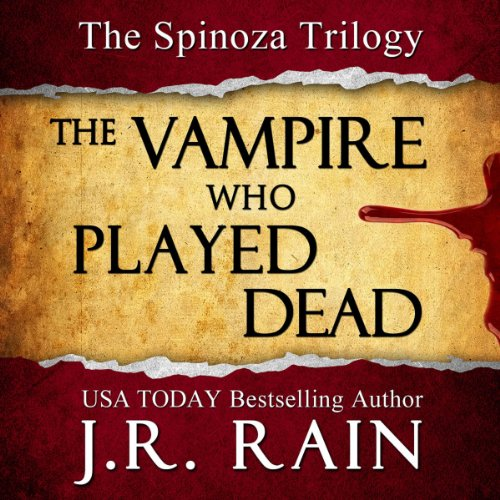 The Vampire Who Played Dead audiobook cover art