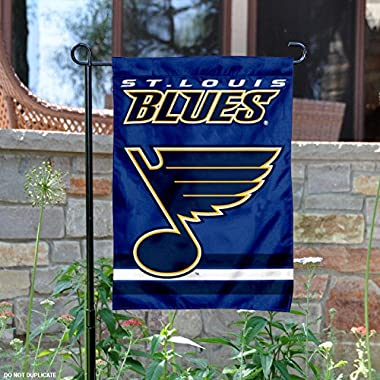 St. Louis Blues Double Sided Garden Flag