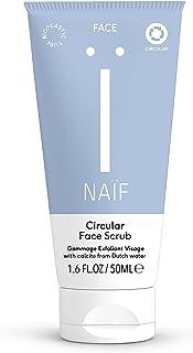 Naïf natuurlijke circulaire gezichtsscrub - voor de vrouw - 50ml