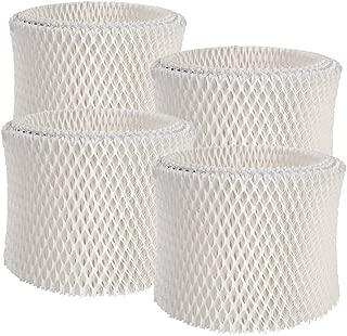 ITidyHome 4-Pack WF2 Replacement Humidifier Filter Extended Life Compatible for Vicks Kaz WF2 Humidifier V3100, V3500, V3500N, V3600, V3700, V3800, V3850, V3850JUV, V3900