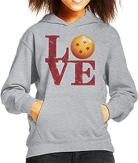 Cloud City 7 Dragon Ball Z Love Kid's Hooded Sweatshirt
