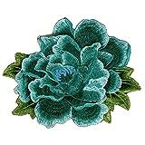 3D-Blumen-Applikation, Spitze, Stickerei, Stoff,