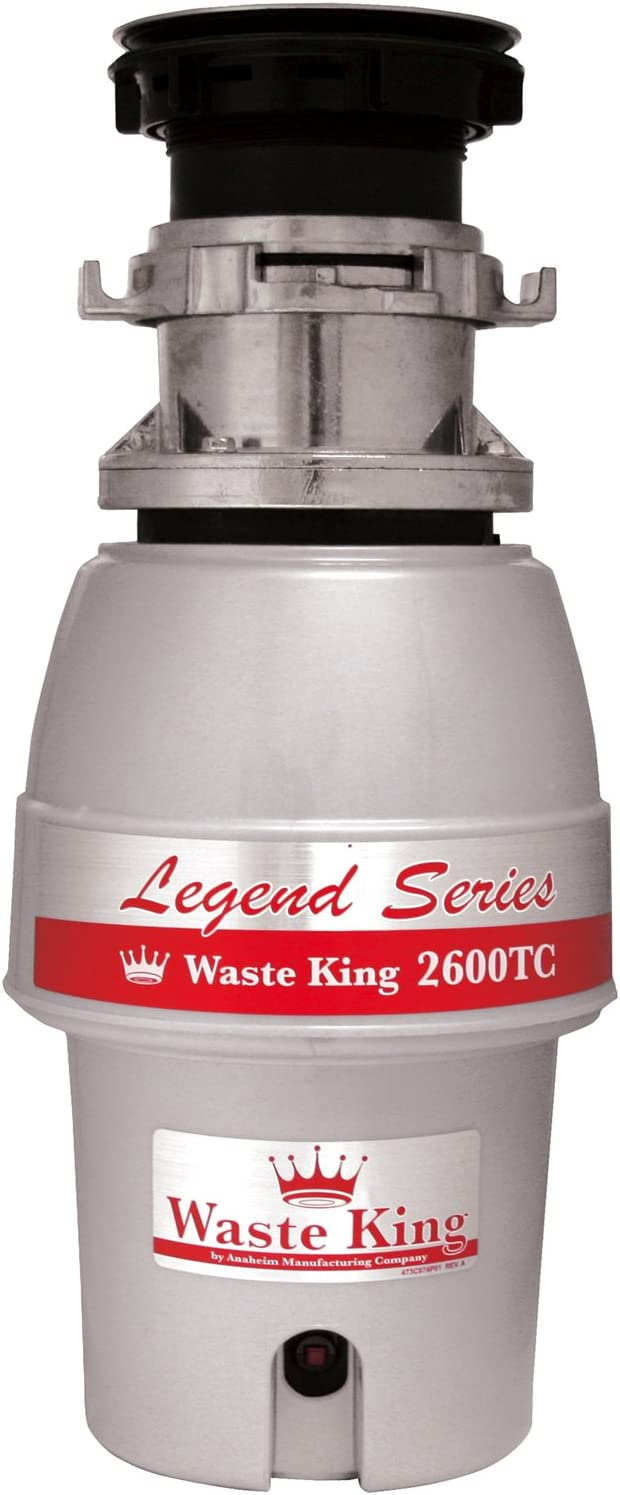 Waste King L-2600TC Max 83% OFF Soldering Controlled Activation 2 HP 1 Garbage Disposa